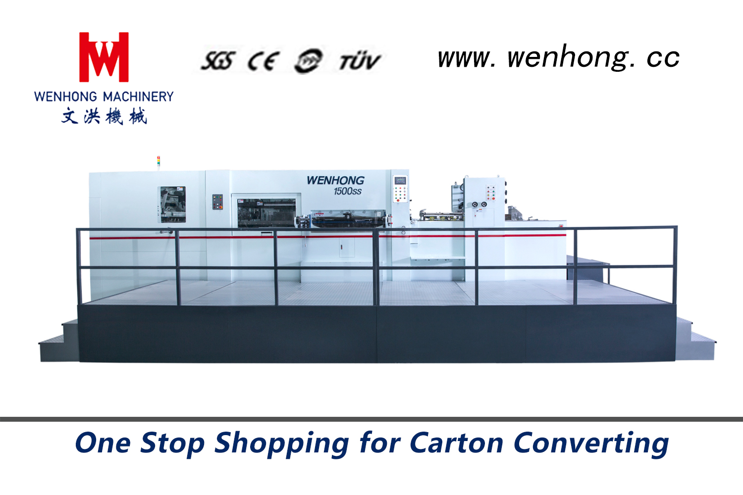Automatic Die-cutting Machine WH-1500SS