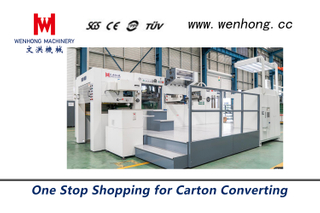 Automatic hot foil stamping and die cutting machine WH-1050SF